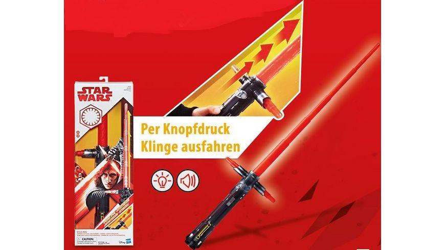 Hasbro Star Wars Movie FX Lichtschwert Kylo Ren