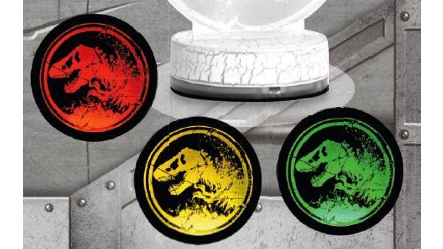 Joy Toy Jurassic World 2 LED Lampe mit Schablonen