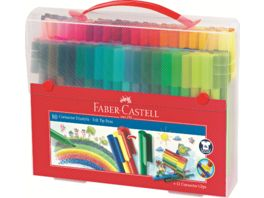FABER CASTELL Filzstifte Connector 80er Box
