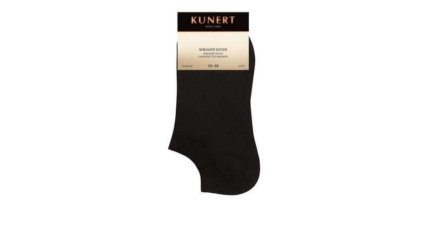 KUNERT Damen Sneaker Socken Wool Care