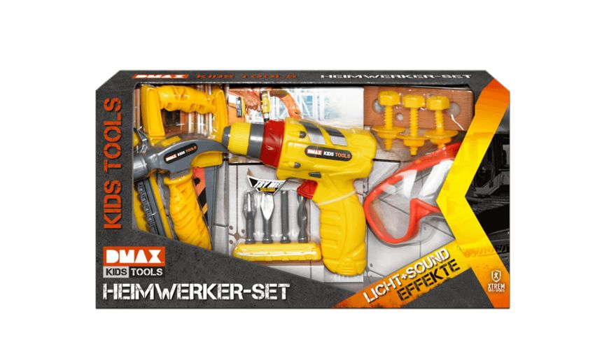 DMAX KIDS TOOLS HEIMWERKER SET