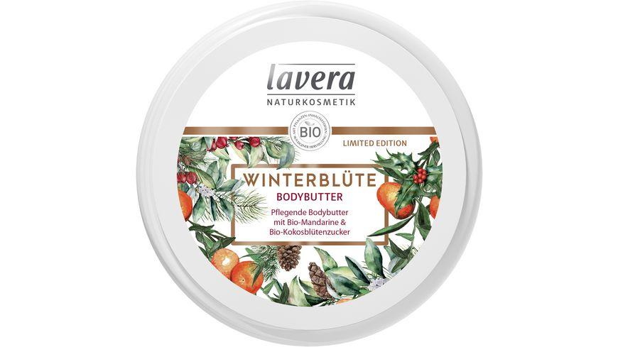 lavera Bodybutter Winterbluete Limited Edition