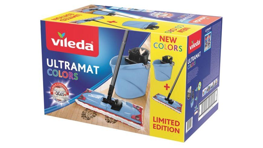 vileda Ultramat 2in1 Set Colors blau