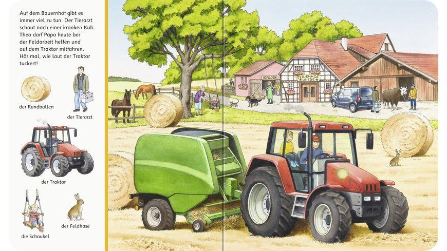 Sachen suchen Sachen hoeren Auf dem Bauernhof