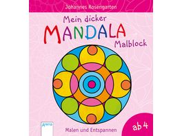Mein dicker Mandala Malblock