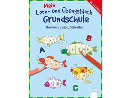 Mein Lern und Uebungsblock Grundschule Rechnen Lesen Schreiben