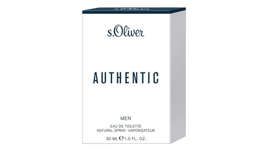 s Oliver Authentic Men Eau de Toilette Natural Spray