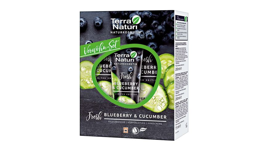 Terra Naturi Blueberry Cucumber Set