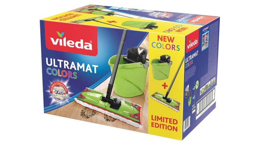 vileda Ultramat 2in1 Set Colors gruen