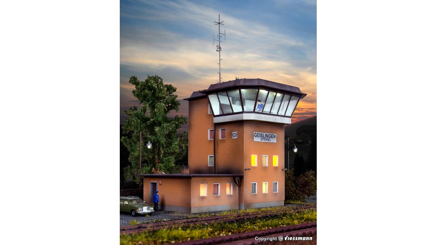 Kibri 39317 H0 Stellwerk Geislingen