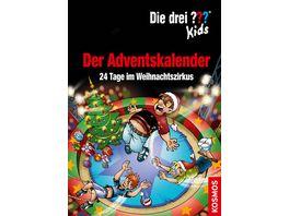 KOSMOS Die drei Kids Der Adventskalender