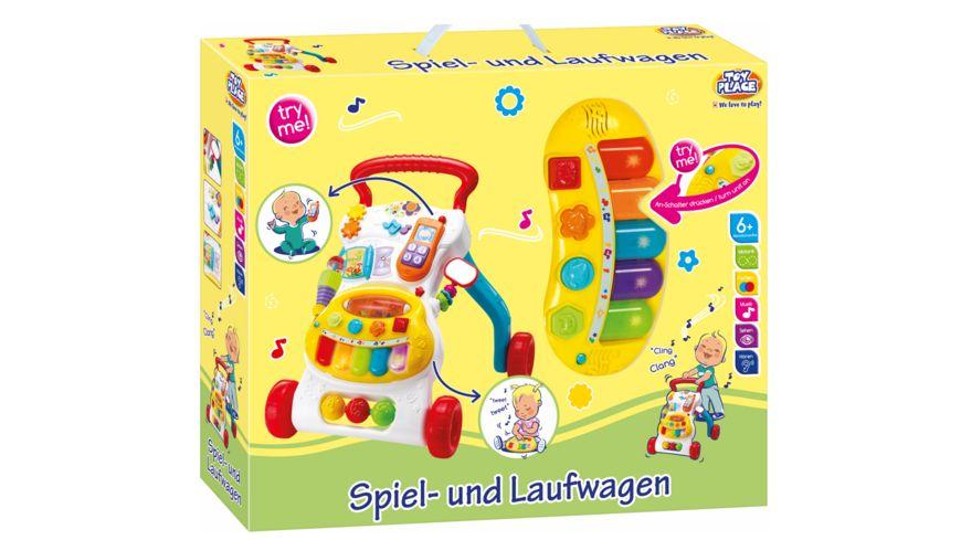 Mueller Toy Place Spiel und Laufwagen