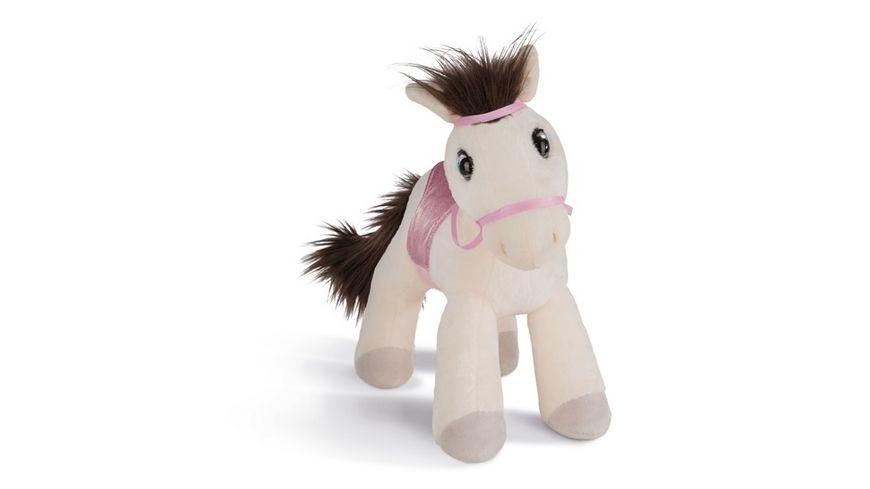NICI Soulmates Kuscheltier Pferd Ayeta mit Zaumzeug und Sattel 35 cm