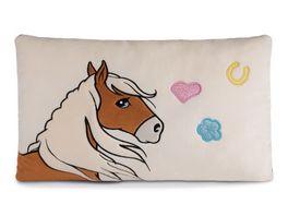 NICI Soulmates Kissen Pferd Leotie rechteckig 43 x 25 cm
