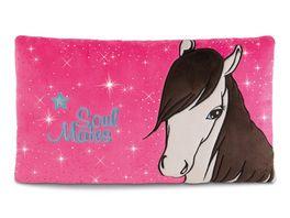 NICI Soulmates Kissen Pferd Ayeta rechteckig 43 x 25 cm