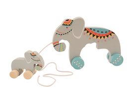 BIECO Nachziehtier Elefant