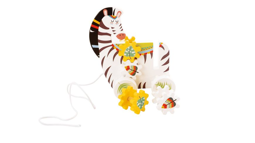 BIECO Nachziehtier Zebra