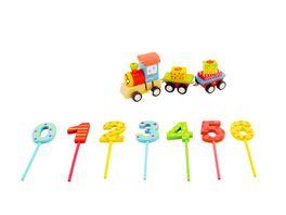 BIECO Fahrender Geburtstagszug