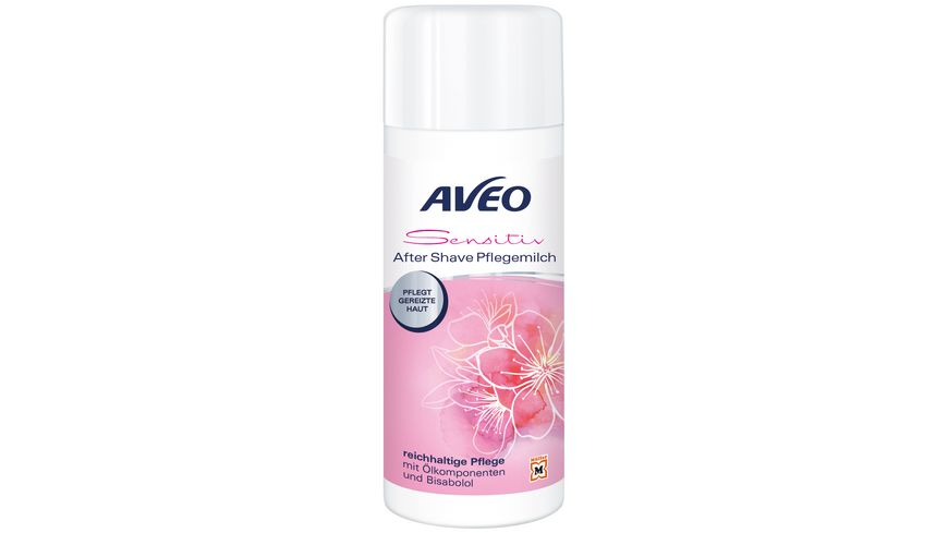 AVEO Sensitive After Shave Pflegemilch