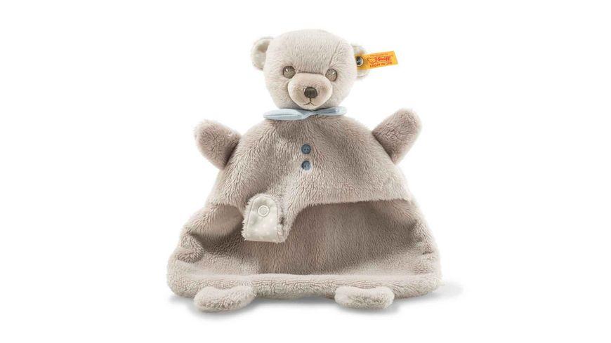 Steiff Hello Baby Levi Teddybaer Schmusetuch in Geschenkbox 28 cm
