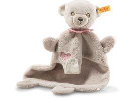 Steiff Hello Baby Lea Teddybaer Schmusetuch in Geschenkbox 28 cm