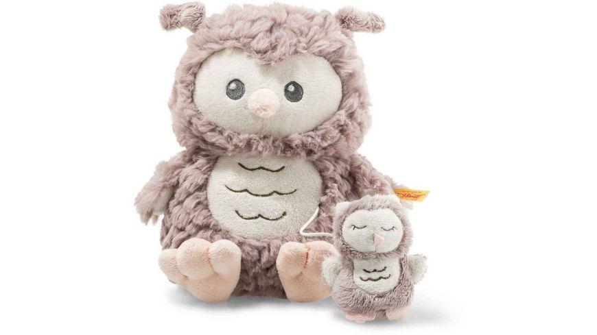 Steiff Soft Cuddly Friends Ollie Eule Spieluhr 21 cm