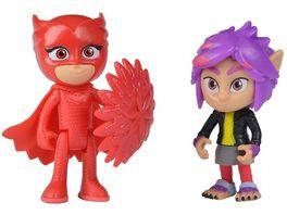 Simba PJ Masks Figuren Set Eulette und Rip