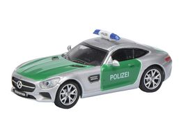 Schuco Mercedes Benz AMG GT S Polizei 1 87