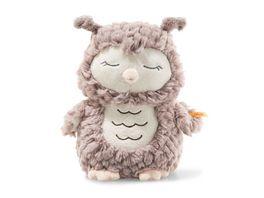Steiff Soft Cuddly Friends Ollie Eule 23 rosebraun