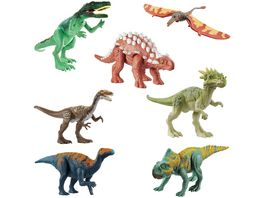 Jurassic World Dino Rivals Attack Pack 1 Stueck sortiert
