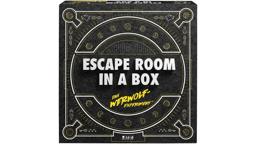 Mattel Games Escape Room Das Werwolf Experiment