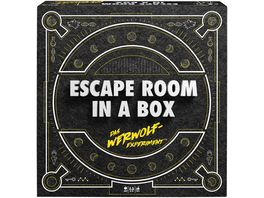 Mattel Games Escape Room in a Box Das Werwolf Experiment