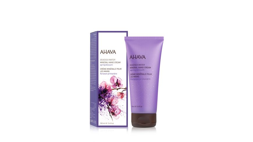 AHAVA Mineral Hand Cream Spring Blossom
