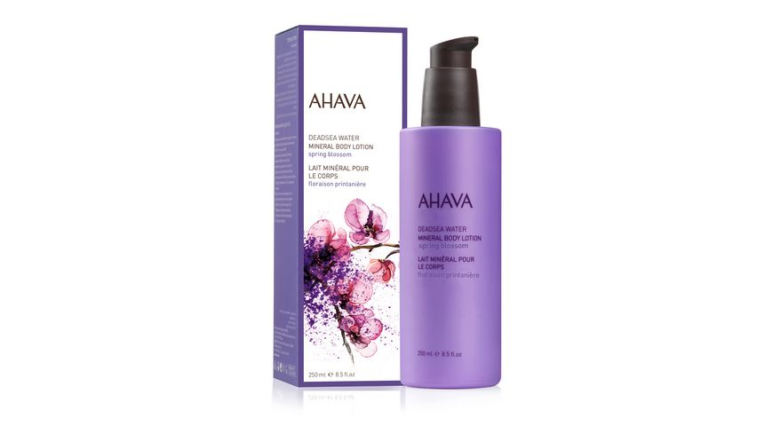 AHAVA Mineral Body Lotion Spring Blossom