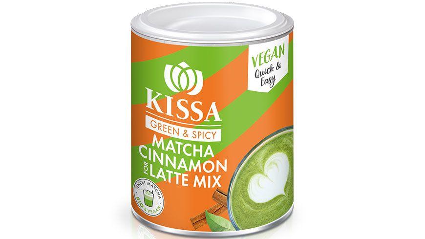 KISSA Matcha Zimt for Latte Mix