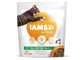 IAMS for Vitality Adult Katzen Trockenfutter mit frischem Huhn 350g