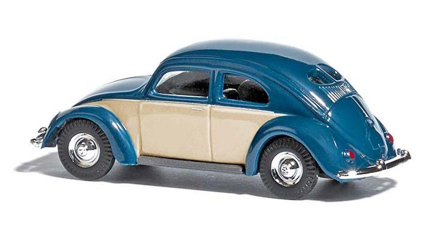 Busch 42780 VW Kaefer Brezelfenster zweifarbig Blau