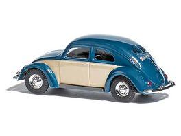 BUSCH 42780 VW Kaefer Brezelfenster zweifarbig Blau 1 87