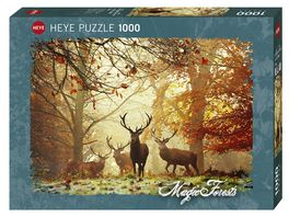 Heye Standardpuzzle 1000 Teile Magic Forests