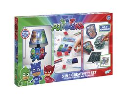PJ MASKS 3 IN 1 CREATIVITY SET