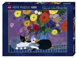 Heye Standardpuzzle 1000 Teile Sleep Well