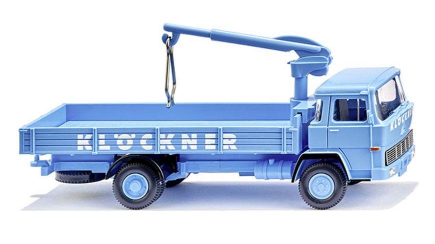 WIKING 0423 01 Pritschen Lkw Magirus 100 D7 Kloeckner