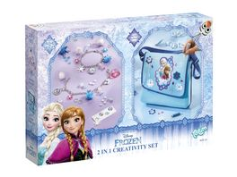 FROZEN 2 IN 1 CREATIVITY SET ARMBAeNDER SCHULTERTASCHE
