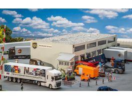 Faller 130785 H0 Logistikhalle UPS