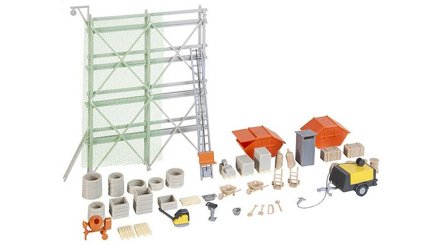 Faller 180345 H0 Baustellenausstattungs Set