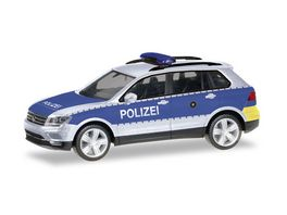 Herpa 093613 VW Tiguan Polizei Wiesbaden