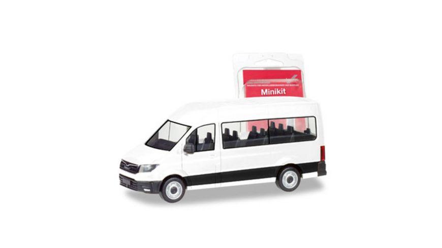 Herpa 012935 Herpa MiniKit MAN TGE Bus weiss