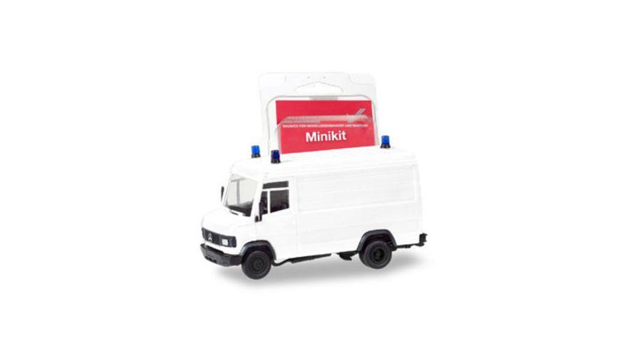 Herpa 013482 Herpa MiniKit Mercedes Benz T2 Kasten weiss