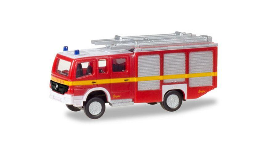 Herpa 066747 Mercedes Benz Atego HLF 20 Feuerwehr dekoriert