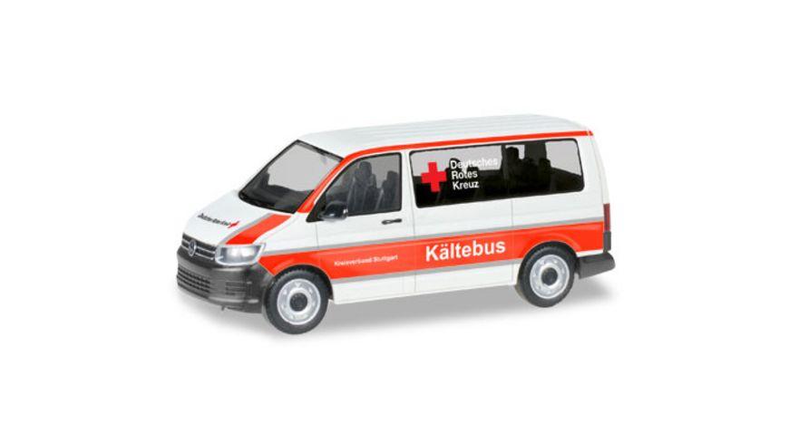 Herpa 093859 VW T6 Bus DRK Stuttgart Kaeltebus
